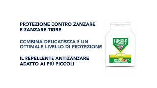 Video: Jungle Formula Spray Repellente Antizanzare Molto Forte