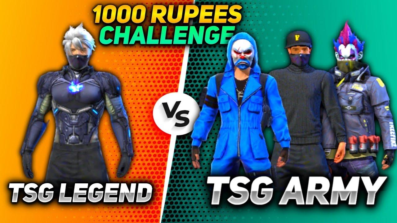 TSG LEGEND VS TSG ARMY 😱    1000 RUPEES CHALLENGE 💥    BEST SHOTS EVER 🤤    MUST WATCH