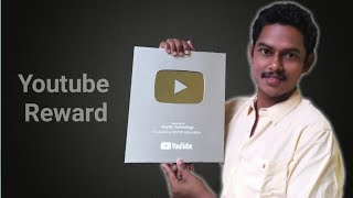 63405c4c25c Unboxing Youtube Silver Play Button-Nayak technology