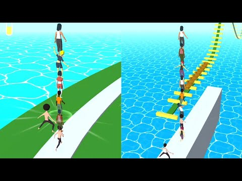 Stacking Guys - level 001-008 #Stacking Guys Game 2020 | Android Gameplay |