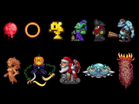 Terraria - All Event Themes (UPDATED)