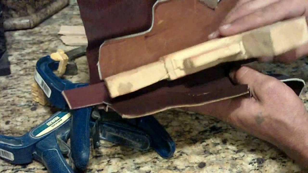 How To Make A Homemade Hand Stitched Custom Leather