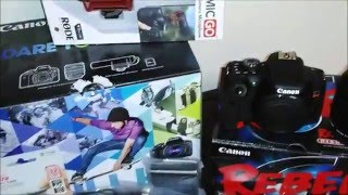 CANON REBEL T6i CAMERA CREATOR KIT BUNDLE UNBOXING (Amazon Vs. Best Buy)(Watch me unbox the Canon T6i Creator kit Camera bundle I purchased from Amazon., 2016-02-12T04:18:40.000Z)