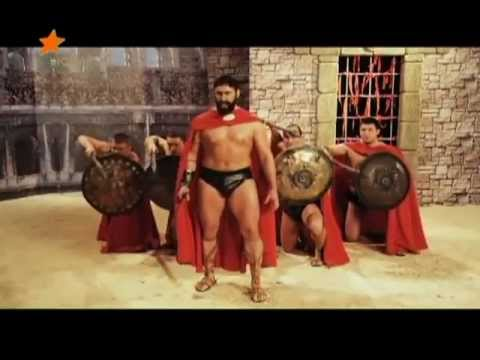 Как снимали 300 спартанцев пародия. Behind the Scene 300 spartans
