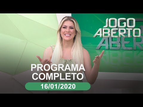 JOGO ABERTO - 17/08/2020 - PROGRAMA COMPLETO from YouTube · Duration:  1 hour 23 minutes 56 seconds
