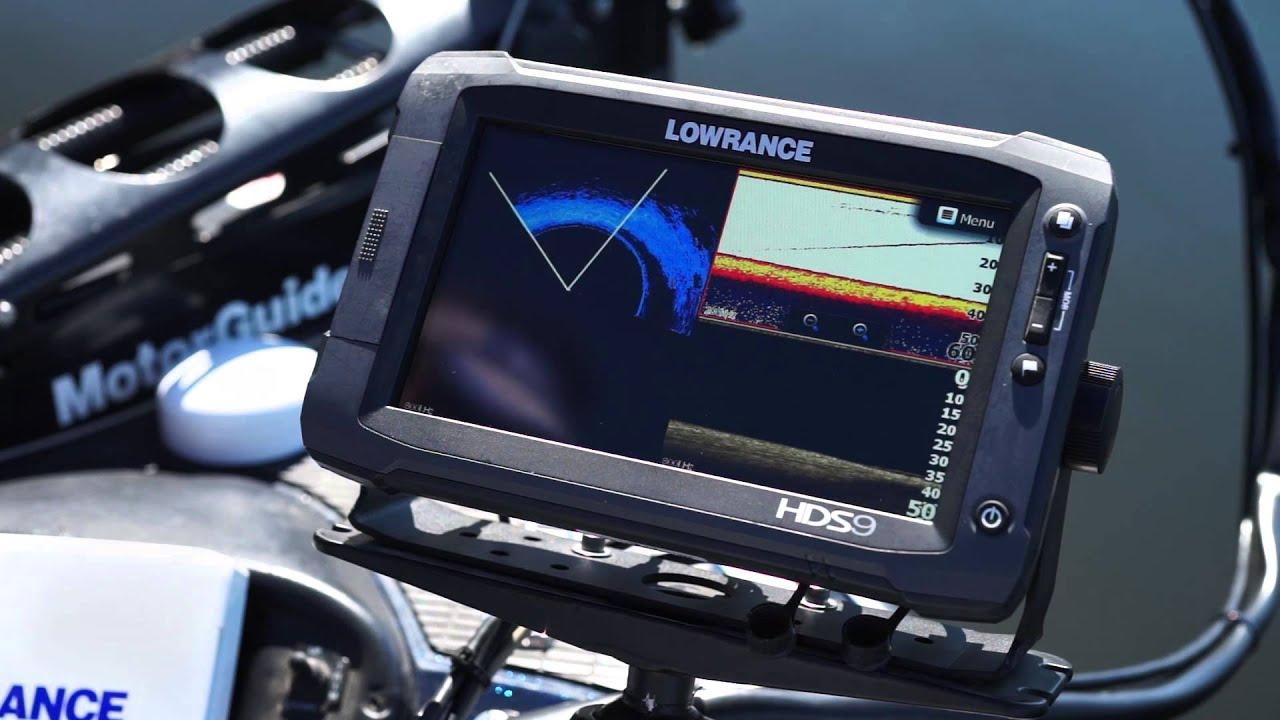 Lowrance SpotlightScan Sonar Trolling Motor Transducer (000