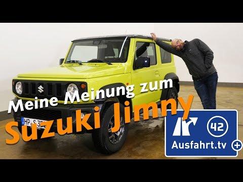Meine Meinung zum 2019 Suzuki Jimny