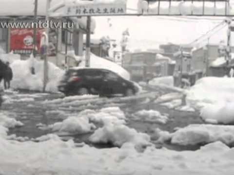 Жертвами снегопадов в Японии стало 50 человек