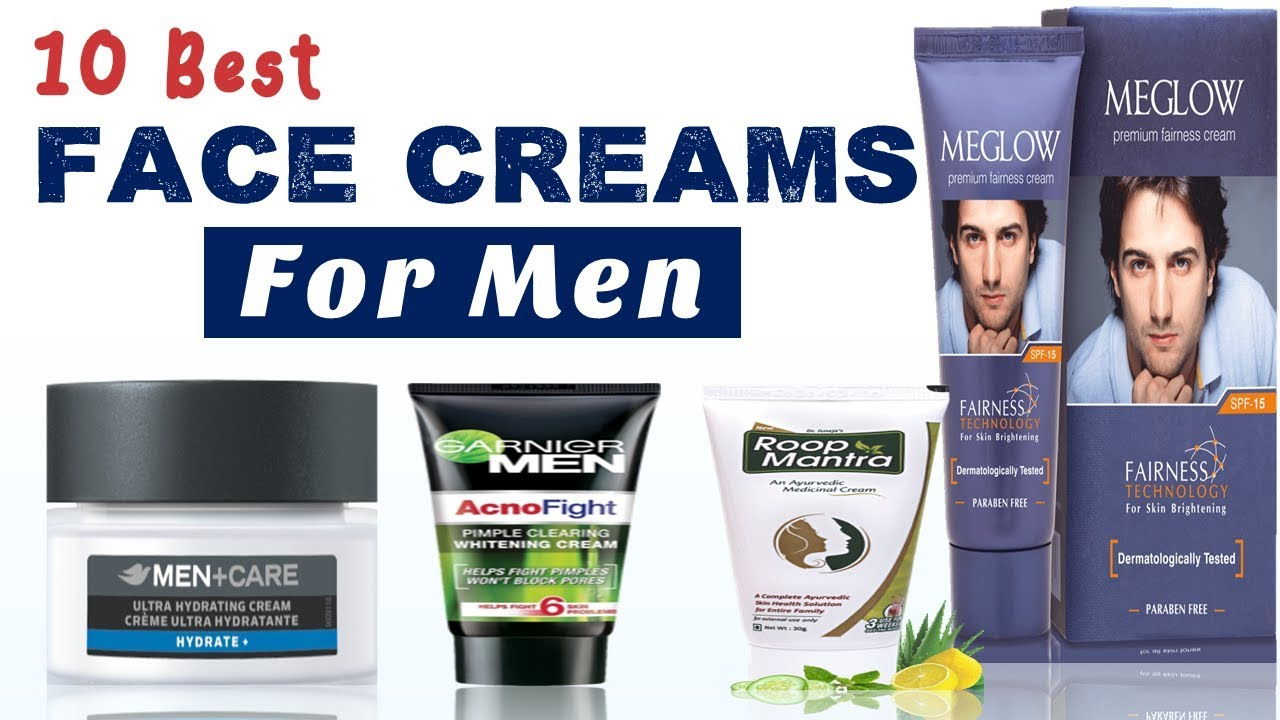 10 Best Face Creams for Men With Price - YouTube