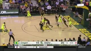 Oregon at Baylor   2016-17 Big 12 Men's Basketball Highlights