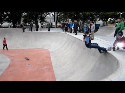 Örebro Skatepark Invigningsdagen 10 Oktober 2015