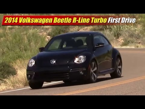 2014 Volkswagen Beetle R-Line Turbo First Drive