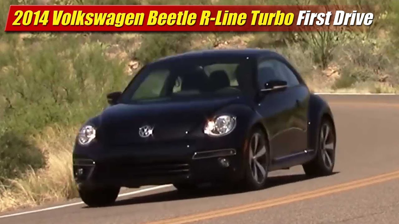 2014 Volkswagen Beetle R-Line Turbo First Drive - YouTube