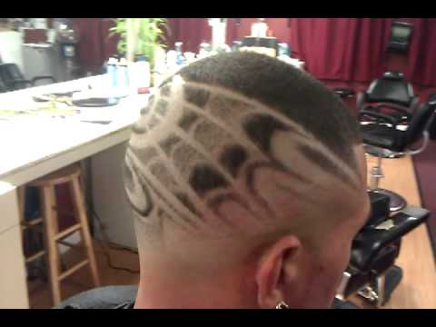 freestyle design hair cut fade
