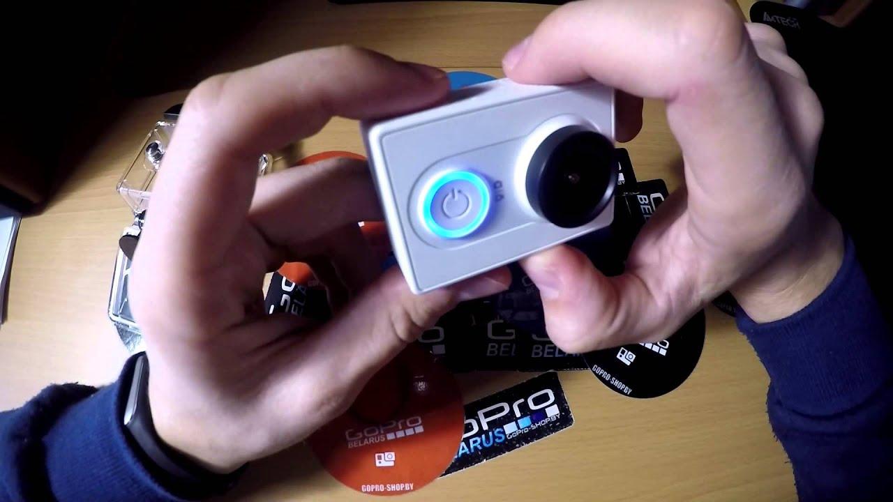 Экшн-камера Xiaomi Yi (Инструкция по применению)
