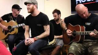 "Saving Abel ""Bringing Down The Giant (Acoustic)"" (Rock 105)"