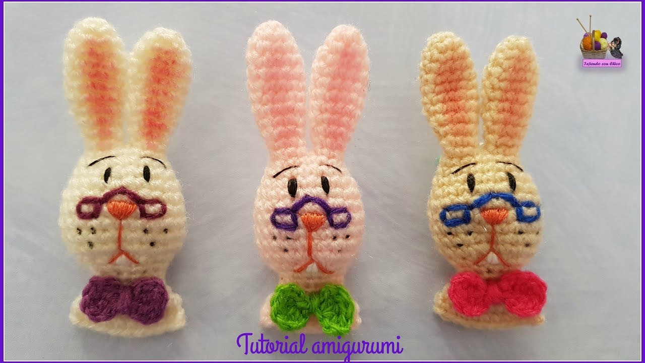 Tutorial amigurumi - Conejo / Rabbit (Also pattern English) - YouTube