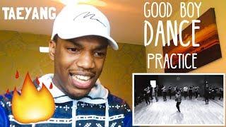 GD X TAEYANG - 'GOOD BOY' DANCE PRACTICE VIDEO REACTION