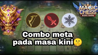 Combo ini bagus untuk push point di magic chess | Mobile legend - magic chess
