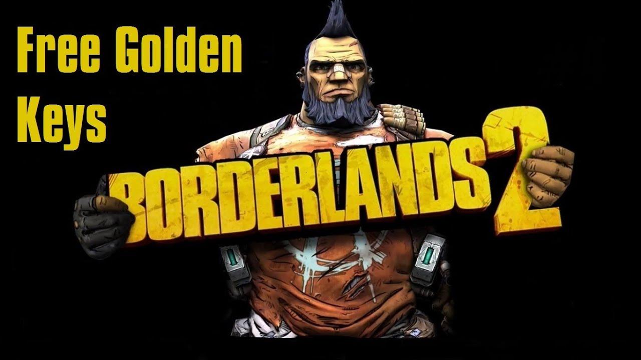 free golden keys in borderlands 2