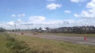 Palio Mérida vs corvette  en ciudad extrema barinas