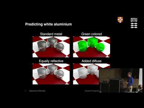 White aluminium by bio-inspiration