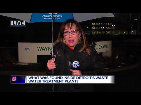Lab to test tissue found at Detroit Water & Sewerage Facility
