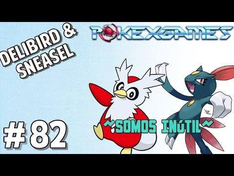 POKEXGAMES #82 - Delibird & Sneasel: A Hunt da depressão! Ft. MestreTomy