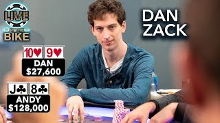 Dan Zack Gets Out of Line ♠ Live at the Bike!