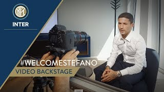 #WELCOMESTEFANO | VIDEO BACKSTAGE | Stefano Sensi