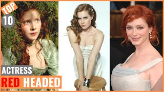 Top 10 Most Beautiful Red Headed Actresses | Hottest | World Top Famous
