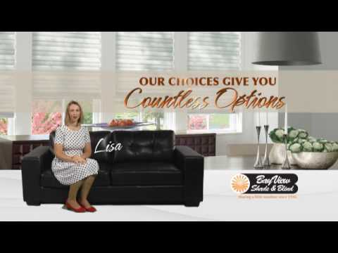 bayview shade and blind window treatments bay view shade blind so many options youtube