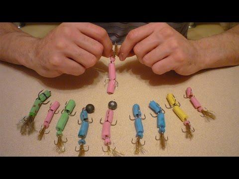 Как сделать мандулу своими руками для рыбалки видео