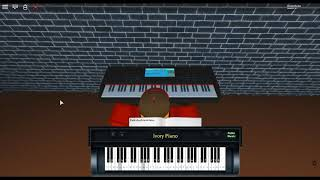 Catch the Moment - SAO:OS by: Tomoya Tabuchi on a ROBLOX piano. [F.B. Piano Arr.]