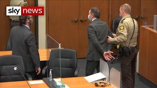 Derek Chauvin found guilty of the murder of George Floyd