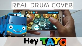 Hey Tayo (Theme Song Tayo The Little Bus) - Real Drum Cover