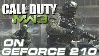 Call of Duty MW3 GeForce 210