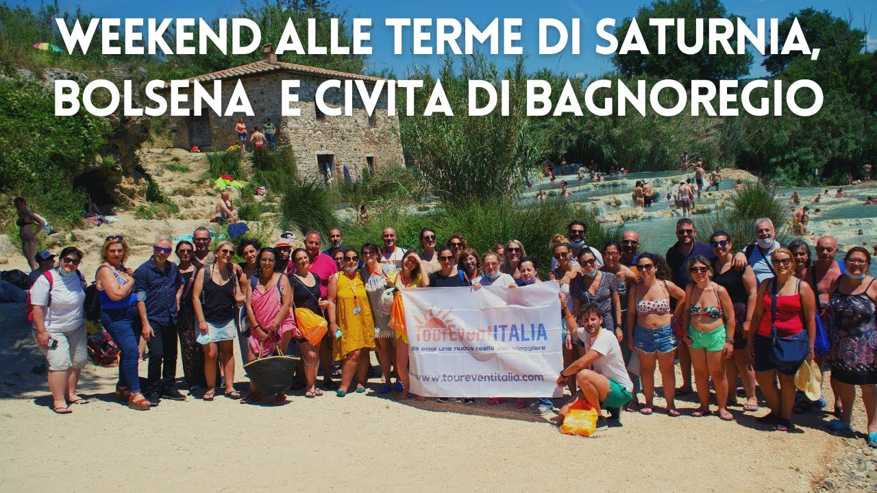 Weekend alle Terme di Saturnia, Lago di Bolsena e Civita di Bagnoregio