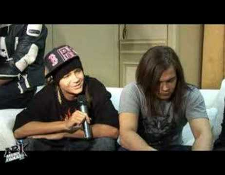 NRJ Music Awards 2008 - interview (25.01.2008)