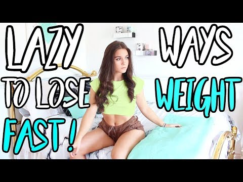 How To Lose Weight FAST for TEENAGERS For SUMMER ! LAZY FITNESS HACKS