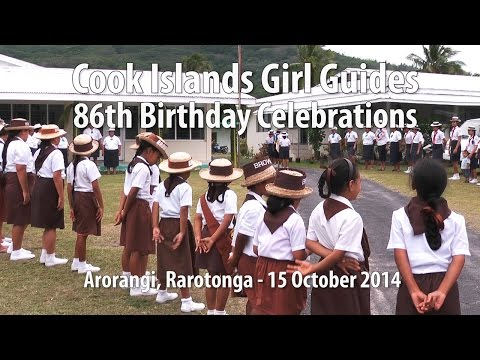 Cook Islands Girl Guides 86th birthday