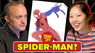 Animator Vs. Cartoonist Draw Marvel Characters From Memory • Draw Off