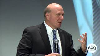 Steve BALLMER, CEO of Microsoft: Opening Keynote at EBG Summit on Digital Innovation