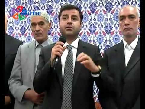 HDP leader Selahattin Demirtas at a funeral, post Ankara bombing - English subtitles
