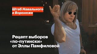 Рецепт выборов «по-путински» от Эллы Памфиловой