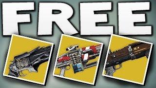 Destiny - HOW TO GET FREE EXOTIC BOUNTY WEAPON !!