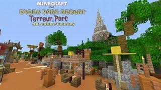 Minecraft PS4 : Every Parc Resort / Épisode 3 / Terreur Parc & Adventure Country