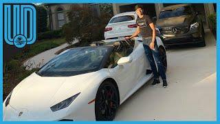 """El futbolista mexicano, Jürgen Damm, presumió en redes sociales un auto lujoso junto a la frase """"Mira mamá y sin saber mandar centros"""".   #MLS #Lamborghini #Damm"""