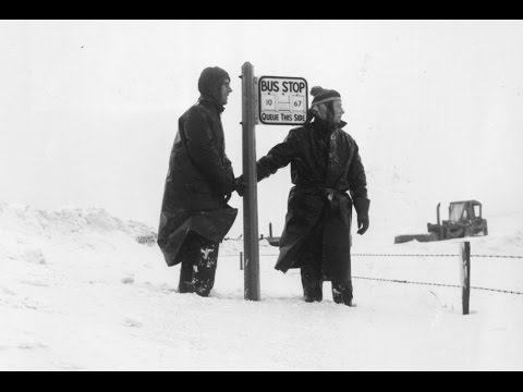 "Photographs Of The Winter Of 1963 - Britain's "" Big Freeze""."