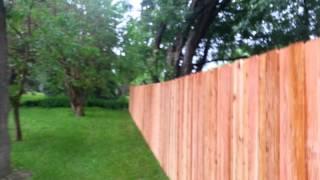 Cedar Batten Board Privacy Fence Bloomington, Mn